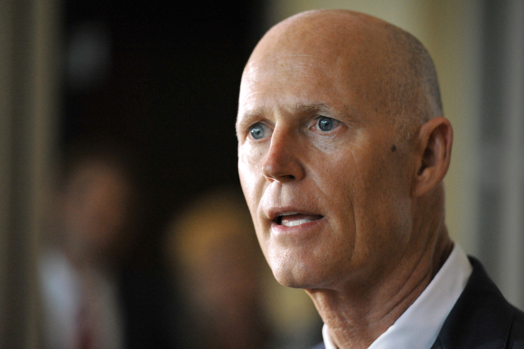 Rick Scott declines to take a position on Trump's Muslim Ban