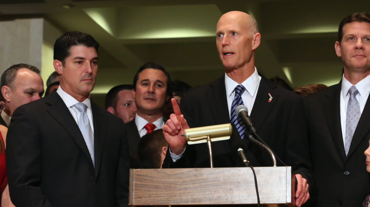 Rick Scott cuts off funding to women's health, including cancer screenings and birth control