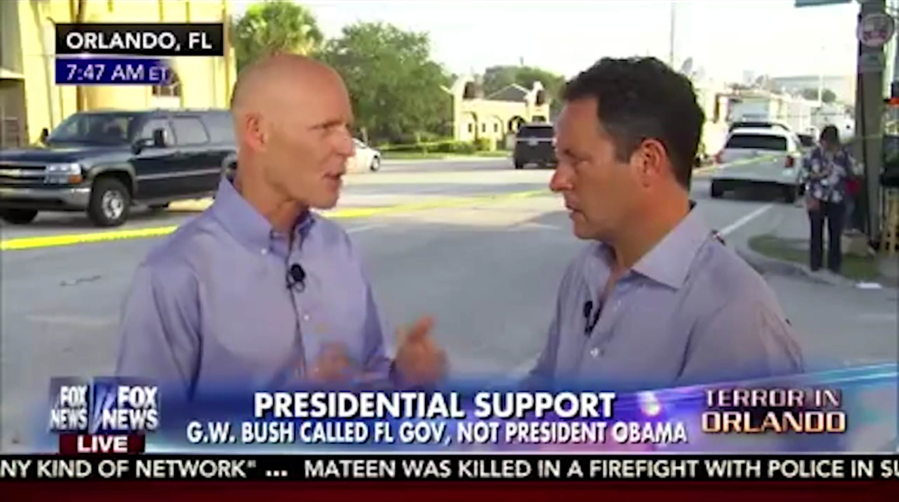 Rick Scott blames ISIS for the Orlando attack, instead of his NRA overlords