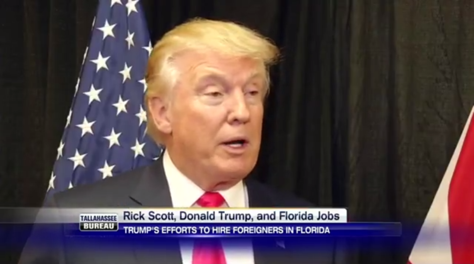 Rick Scott Is Supporting Trump Even Though He Outsources Jobs