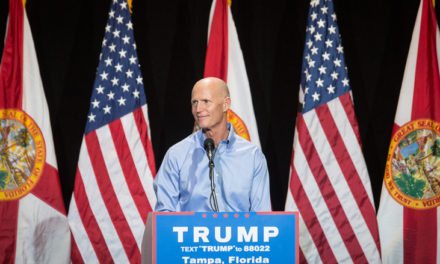 "Rick Scott Will Attend Trump's Orlando ""Thank You"" Rally"
